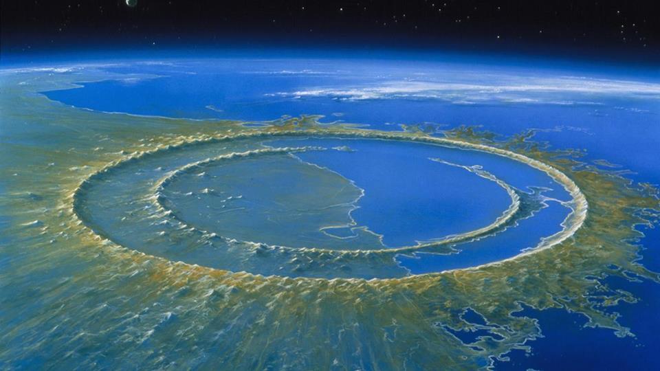 Najbajkovitija mesta na planeti  Krater_Čiksulub