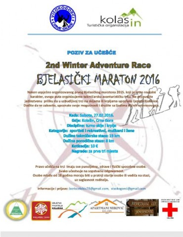 II Winter Adventure Race 2016